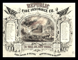 Insurance company certificate